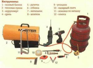 инструменты для натяжки