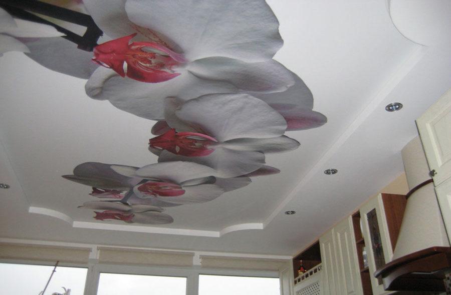 3d потолок
