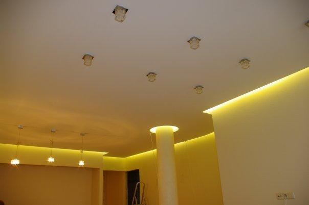 Парящие натяжные потолки - 700 руб. за метр! 3