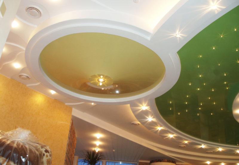 объемные потолки