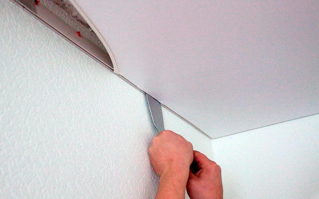чистая установка модных потолков