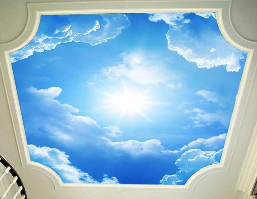 Натяжные потолки в Красноармейске - Натяжной потолок с облаками 10 фото 3