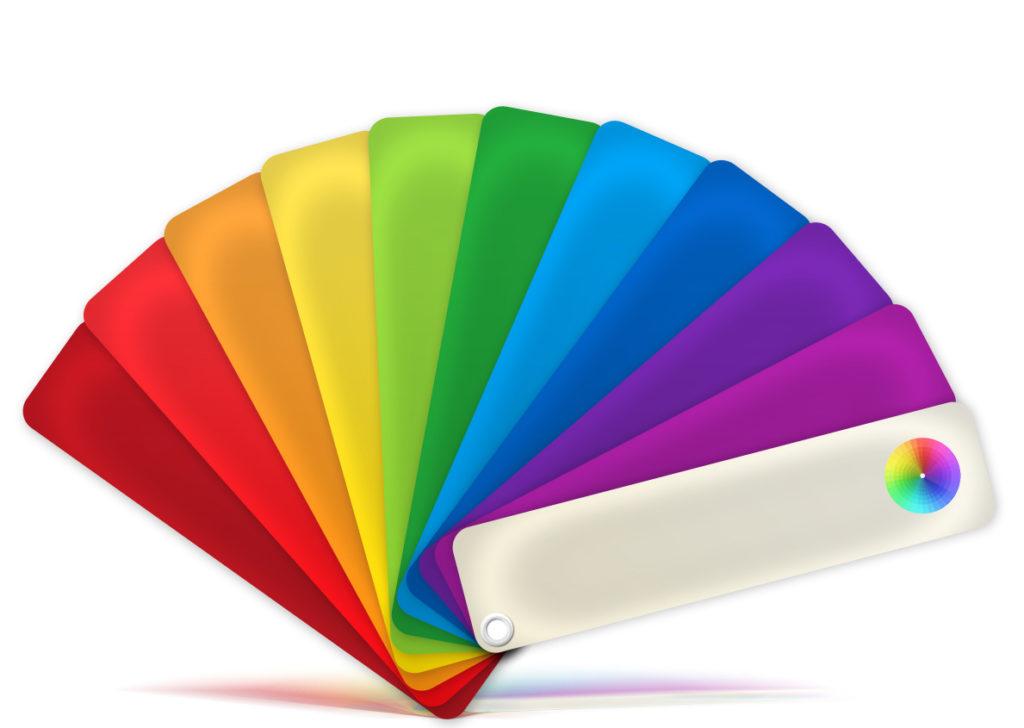 цветовое решение натяжных потолков