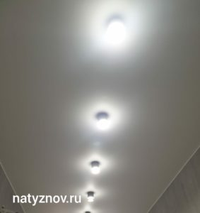 установка натяжных потолков в Дмитрове