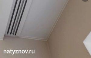 Натяжные потолки без нагрева